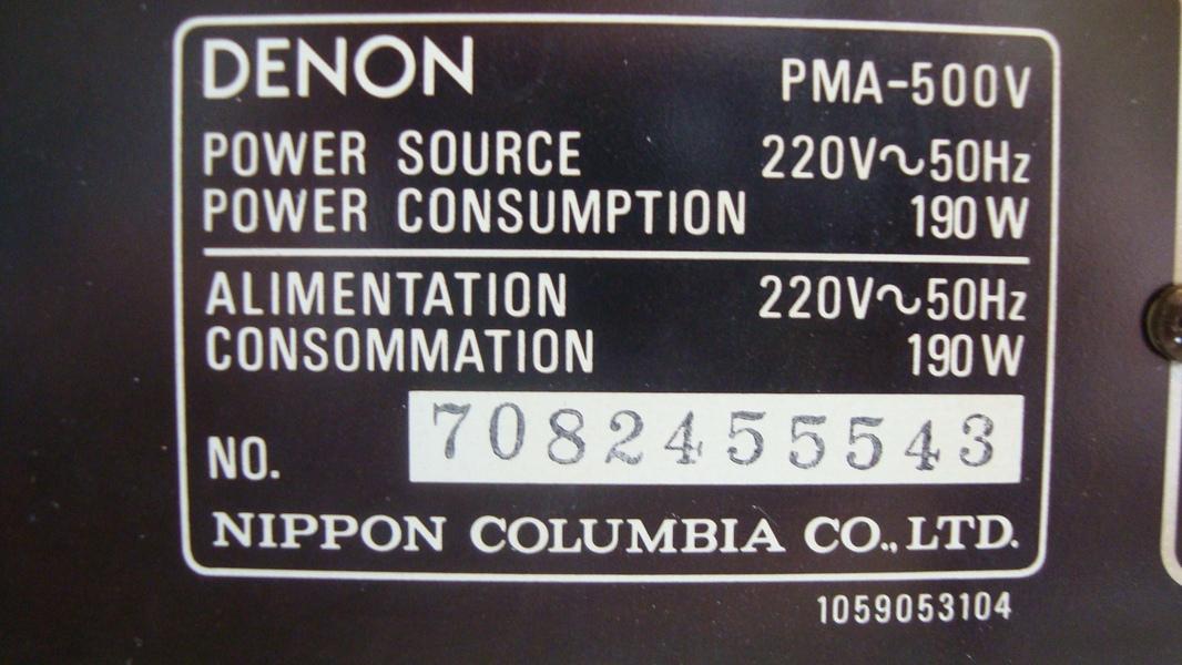 Denon PMA-500V