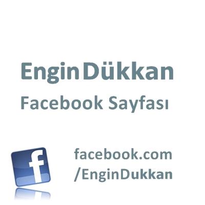 EnginDükkan Facebook Sayfası
