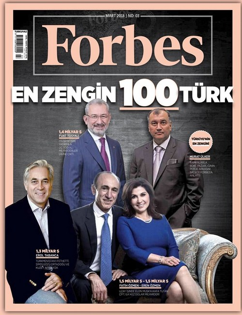Forbes Türkiye'nin en zenginleri '2018